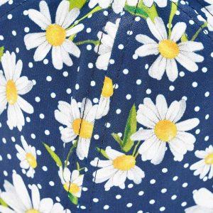may daisy hat closeup