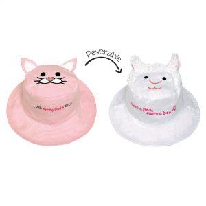 kc hat pink cat