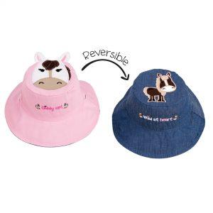 kc hat pink horse blue