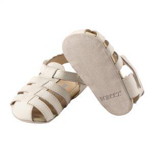 robeez little kicks white sole