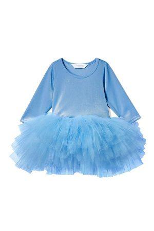 Lg Sleeve Blue Tutu