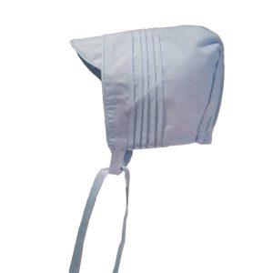 faire bonnet Baby Blue Solid
