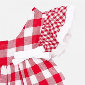may dress checked red white cp