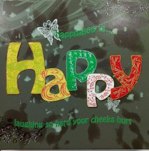 Happy Canvas Picture