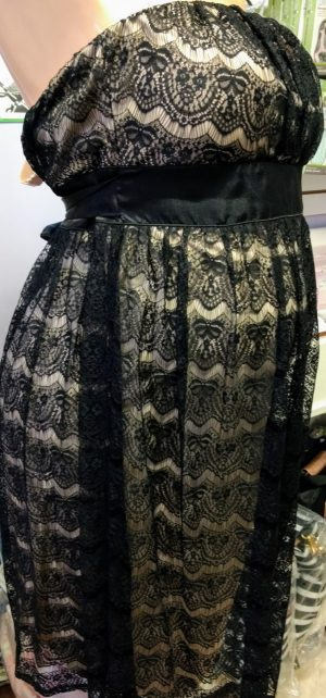 lace dress sideview