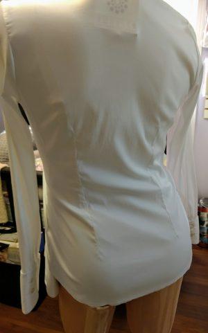 back of white shirt