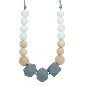 oyaco glitter_spice_silicone_teething_necklace_harper_1